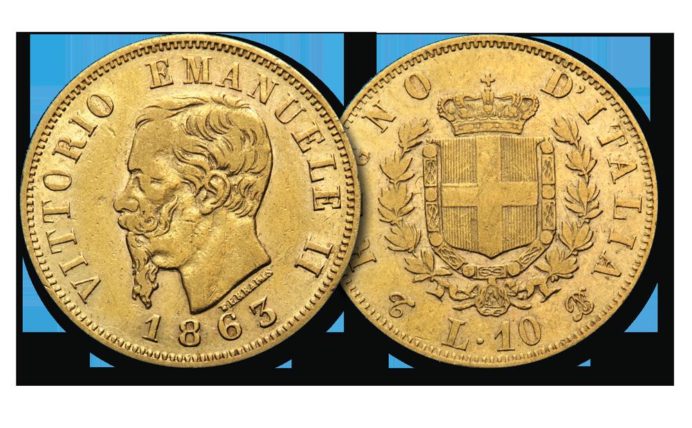 84dbbde19f Da sempre, la numismatica è stata la forma d'investimento che ha dato  sicurezza ai risparmiatori, non essendo legata all'altalenarsi dei mercati  finanziari.